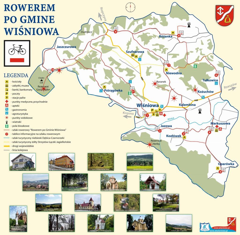 rowerem po gminie Wiśniowa