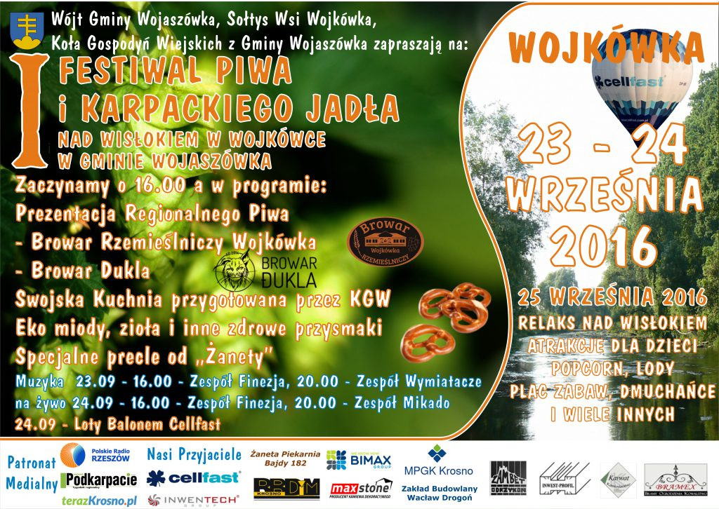 Plakat_I_Festiwal_Piwa_i_Karpackiego_Jadła_nad_Wisłokiem