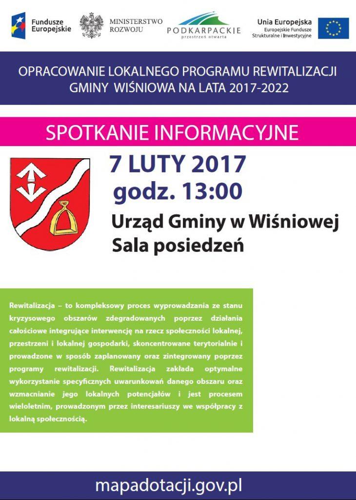 lokalny-program-rewitalizacji-gminy-wisniowa-spotkanie-informacyjne